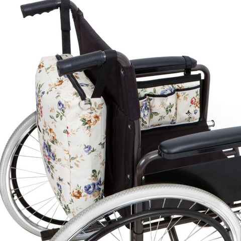 astrata wheelchair backpack and side bag