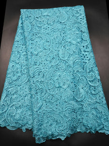African Lace fabric Hot Sell Mesh 2019 New Arrival Plain white Color african cord Lace /guipure lace Fabrics High Quality X012