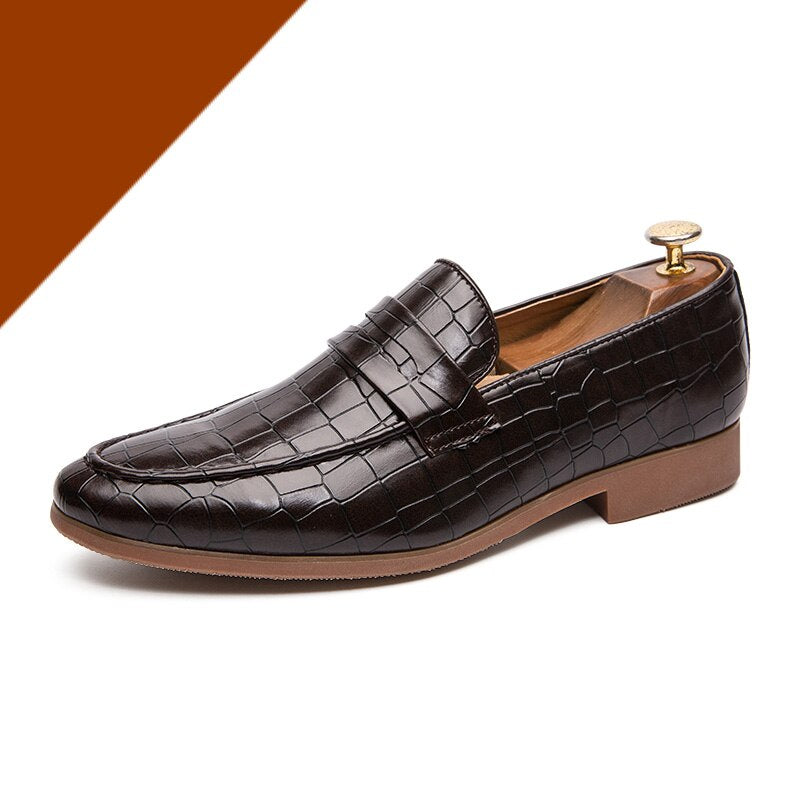 Misalwa 38-47 Summer Men Fashion Loafers British Gentleman Dress Formal PU Leather Shoes Pointed Toe Casual Mocasines Oxfords