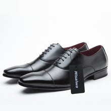 Misalwa Classic Cap Toe Oxford for Formal Dress Job Interview Business Office Shoes for Men Leather 2019