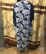 NEW African LADY STYLE DRESS WITH PANTS/TROUSERS black 2pcs/set