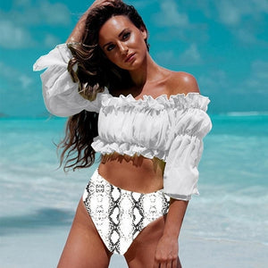 MPG Store Long Sleeve Push Up  Beach Cover Ups