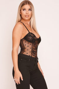 MPG Store Black  Bodysuit BD01
