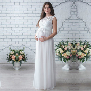 Bear Leader Maternity Dress 2019 New Spring Maternity Party Dress Maternity Dress Solid High Split Design For Graceful Mom