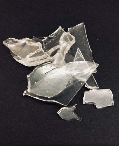 Rubber Glass Shards