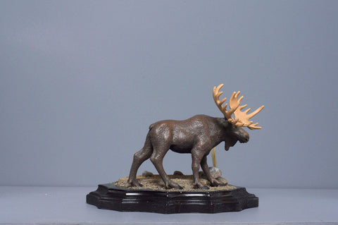 The Moose from The River