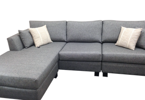 Winter 3 Seater Chaise Sofa