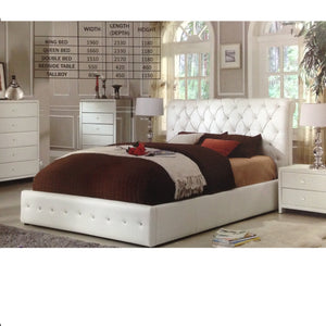 Diamenti Leatherette Bed Frame
