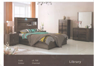 Library Bed Frame