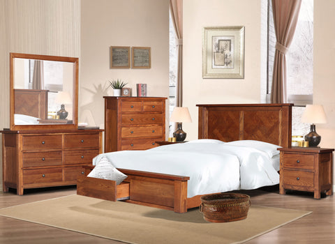 Paramount Timber Bed Frame