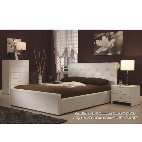 Chester Leatherette Bed Frame