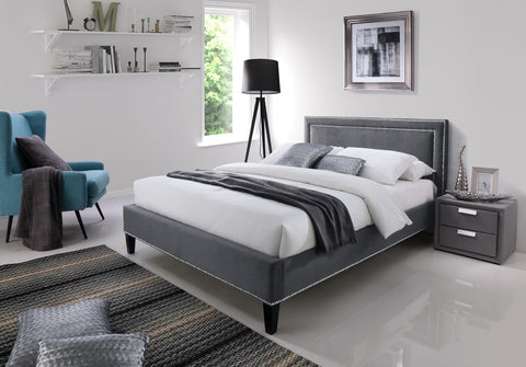 Ocean Fabric Bed Frame