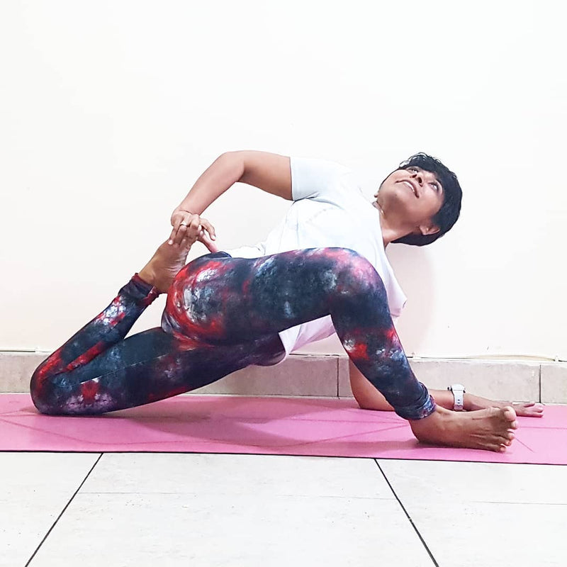 Let's Twist Yogis Yoga Challenge August 2018