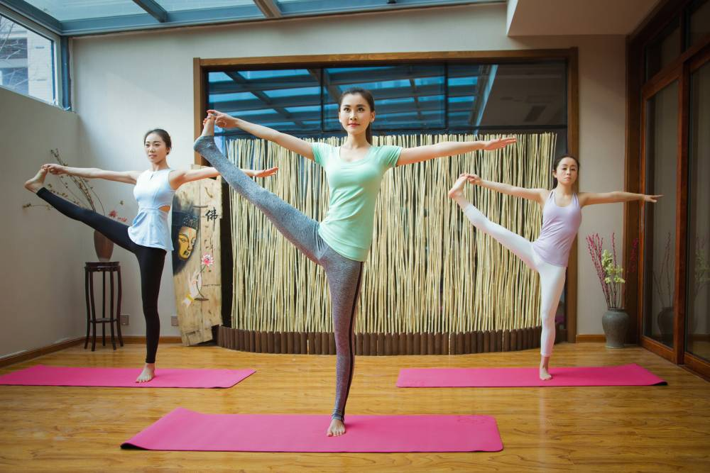 Burning Calories With Yoga guide practice