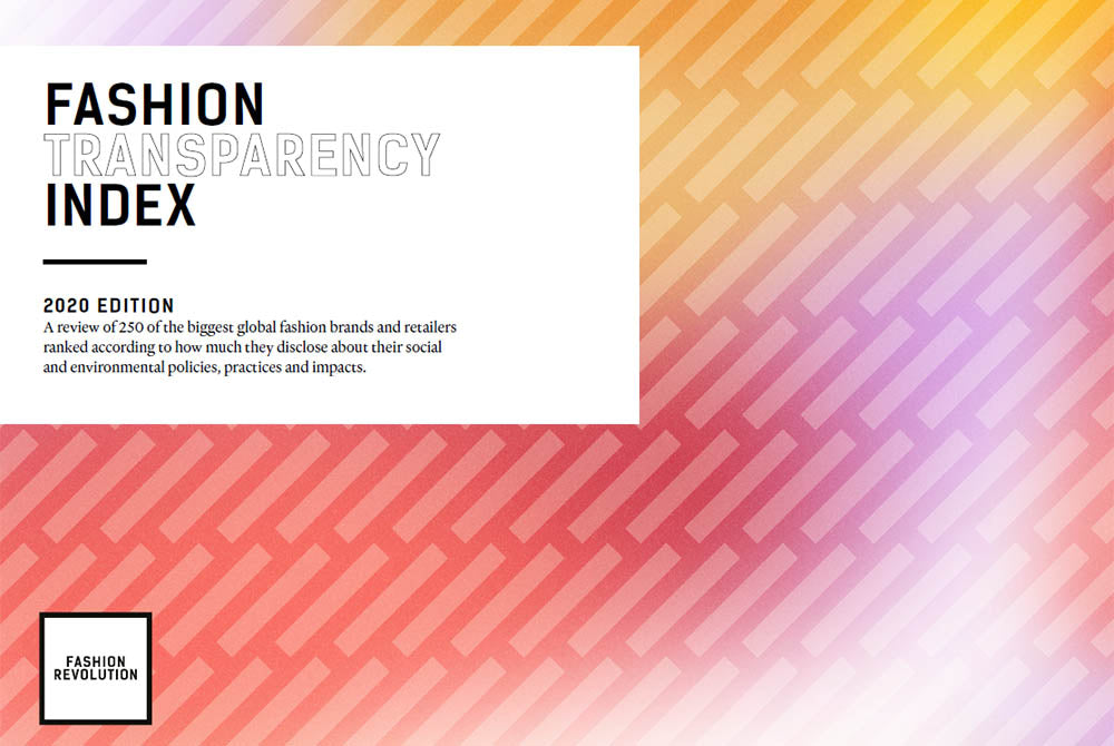 The Fashion Transparency Index 2020 is Out Now