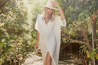 careste white dress