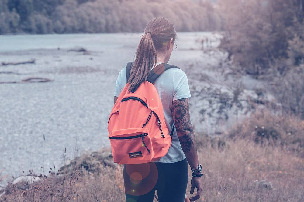 eastpak sustainable backpacks
