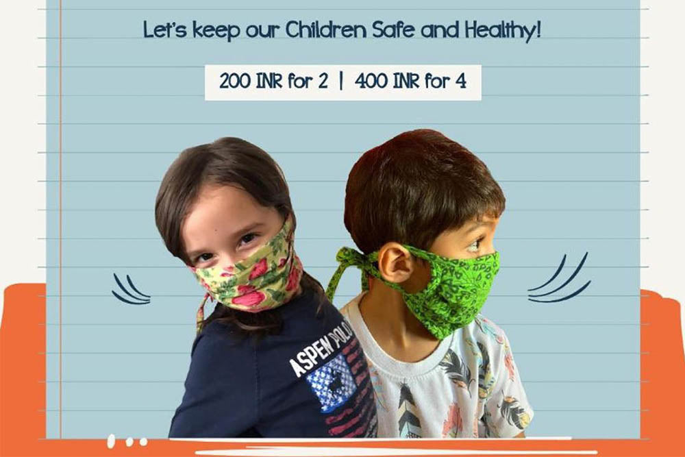 Oh Scrap! Madras Makes Reusable and Upcycled Face Masks