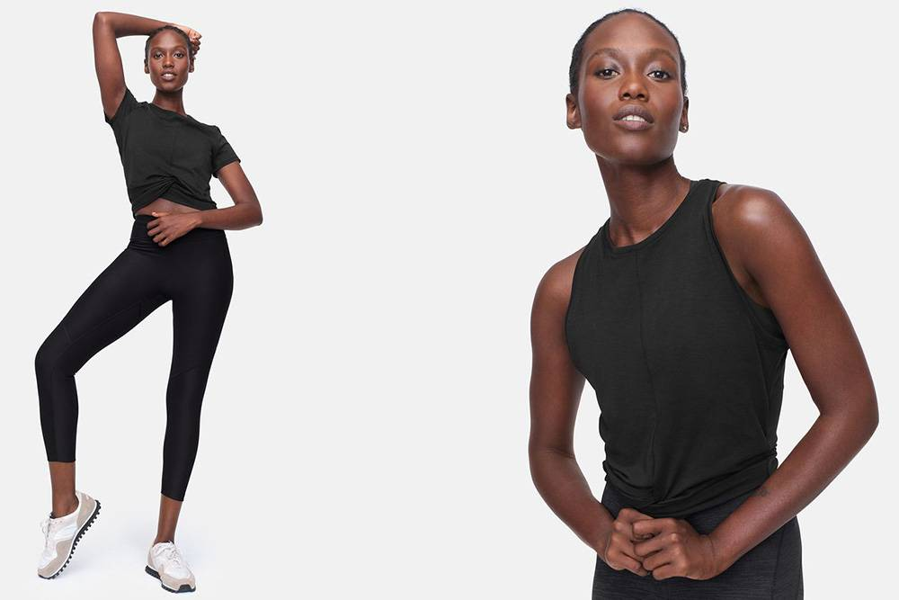 outdoor voices black activewear