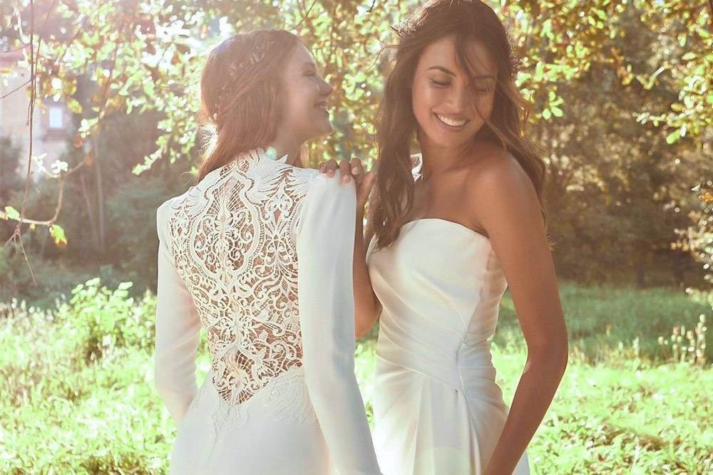 pronovias wedoeco sustainable wedding dresses