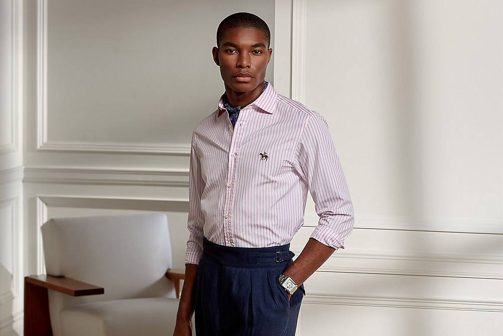 Purple Label ralph lauren sustainability