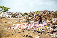 rayon pollution waste landfill
