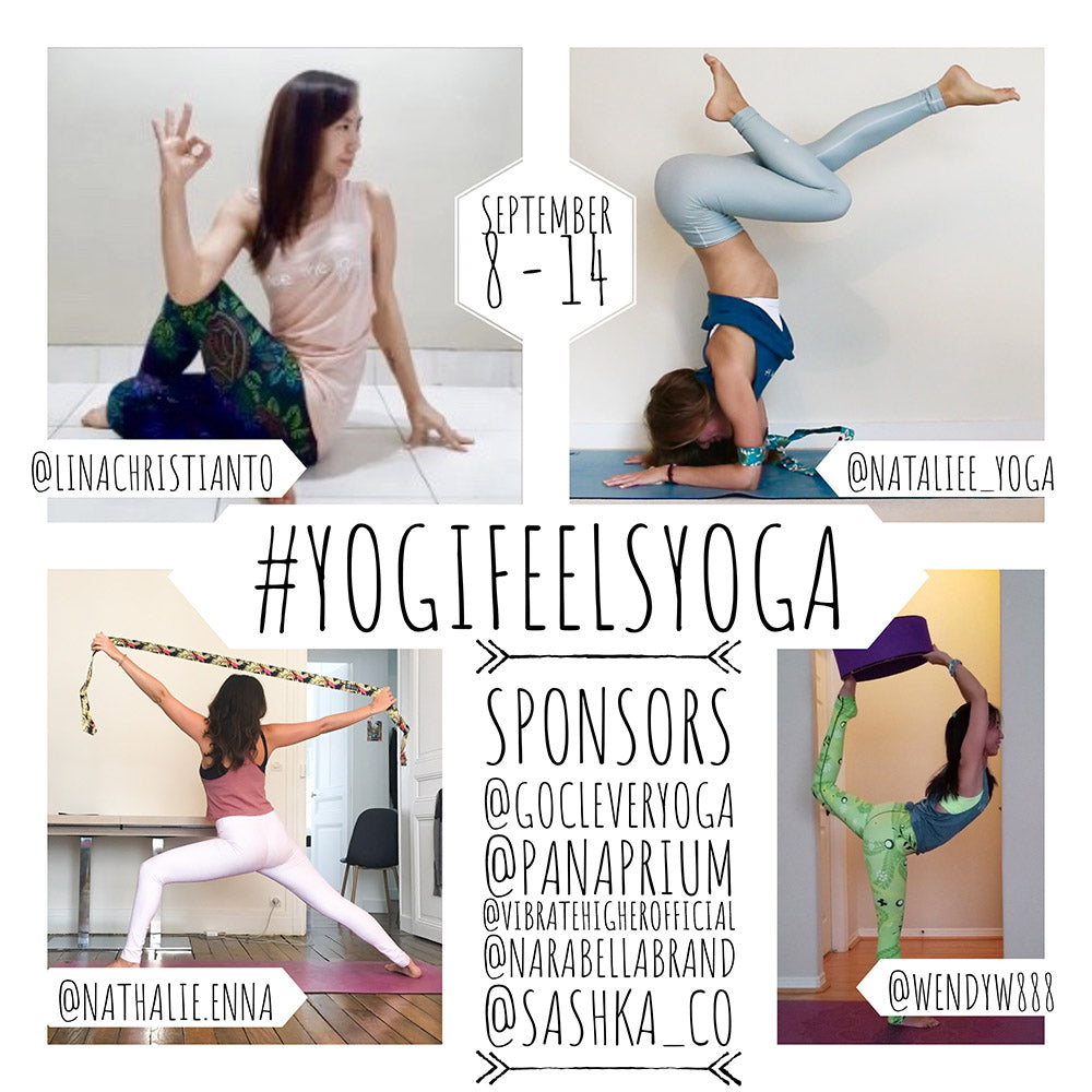 Yoga Challenge #YogiFeelsYoga September 8th - 14th