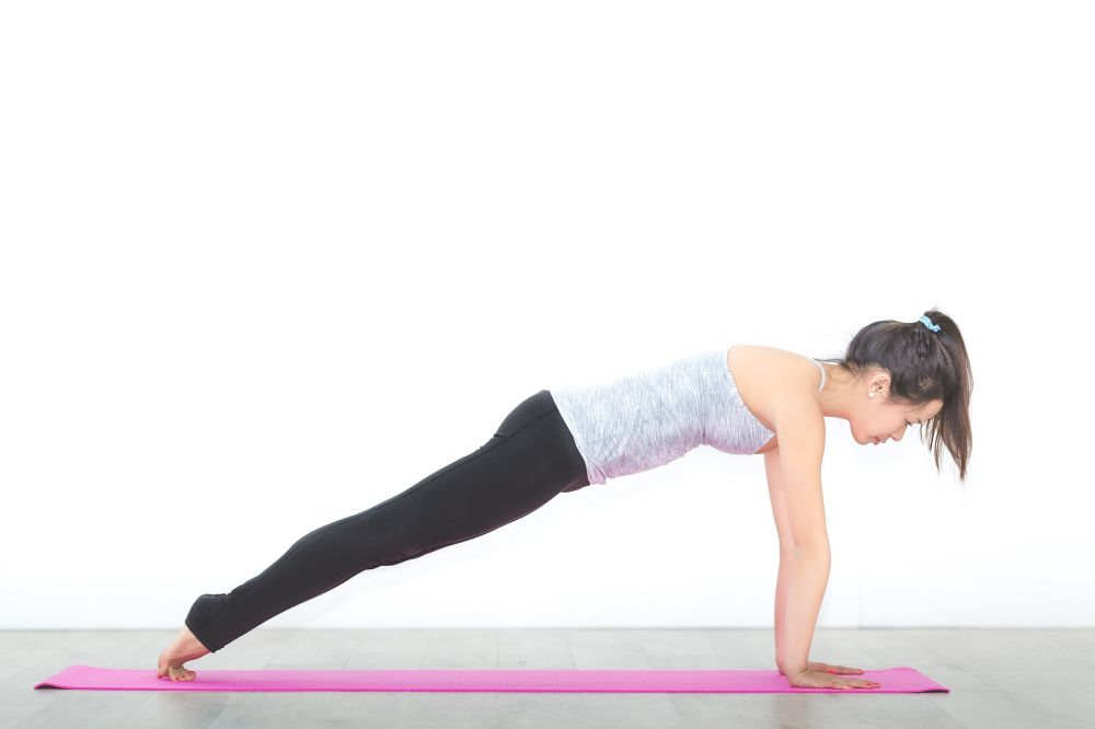 yoga weight gain plank pose