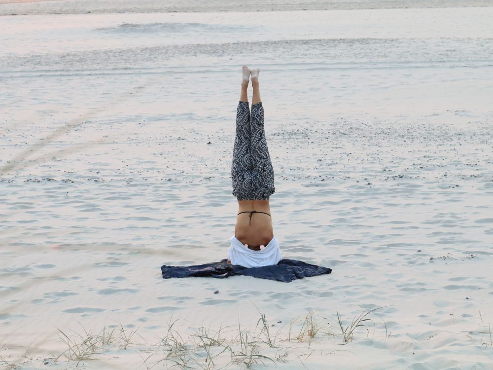 grow taller yoga headstand