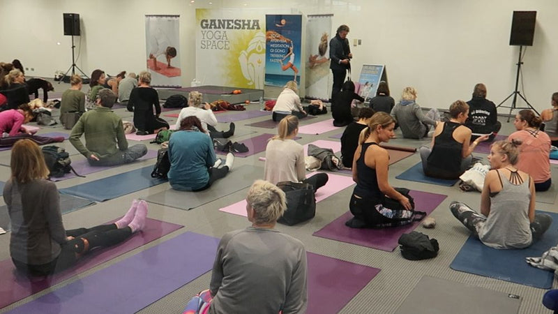 YogaWorld Messe Munich 2018