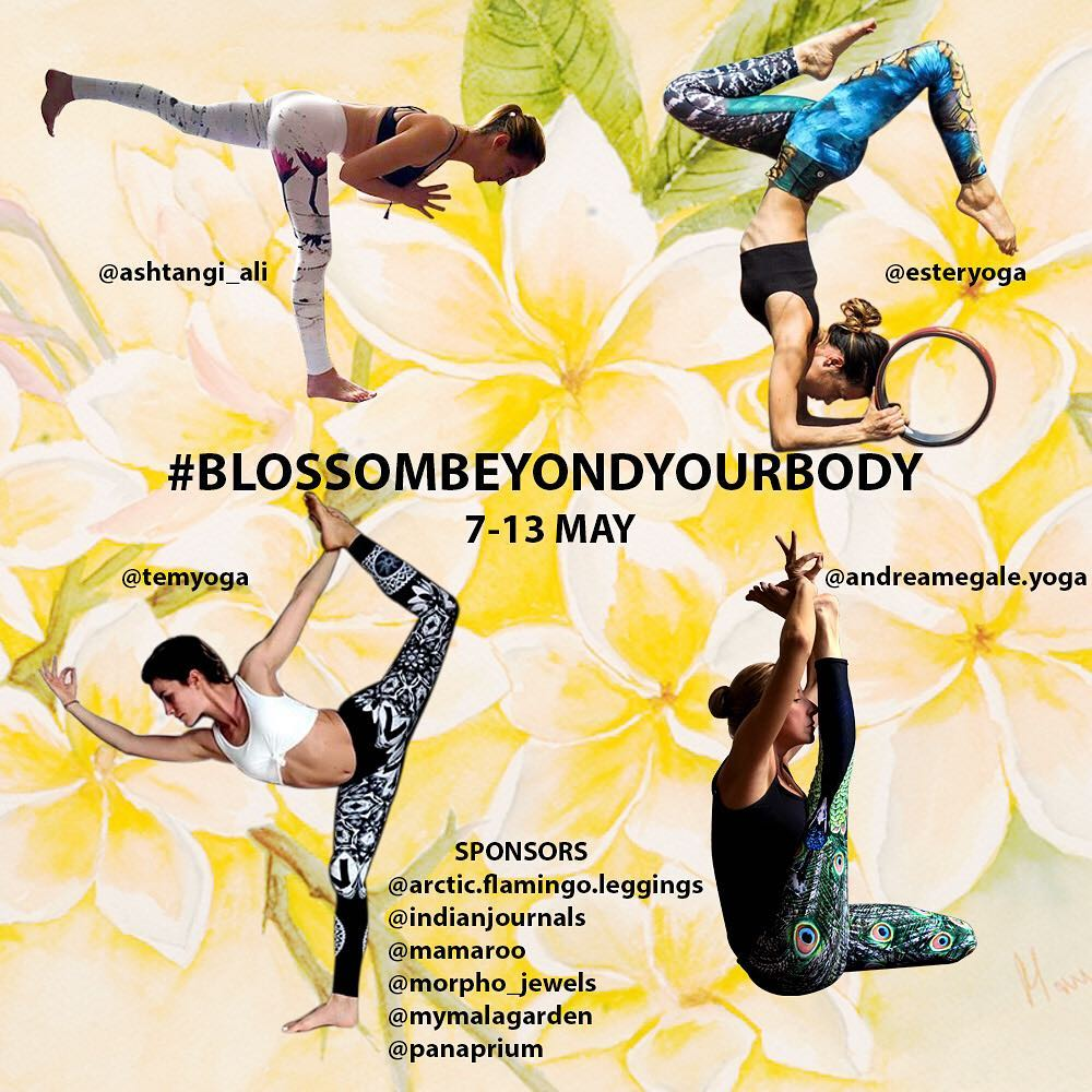Blossom Beyond Your Body Yoga Challenge May 2018