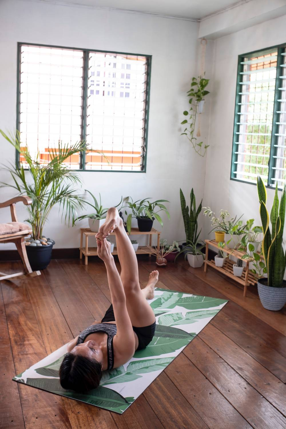yoga practice home weight loss