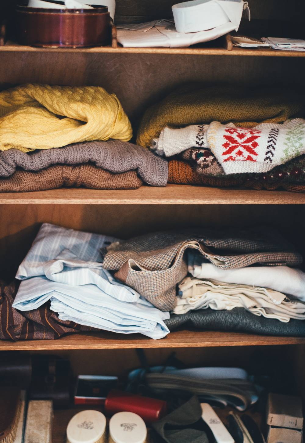 clothing shelf