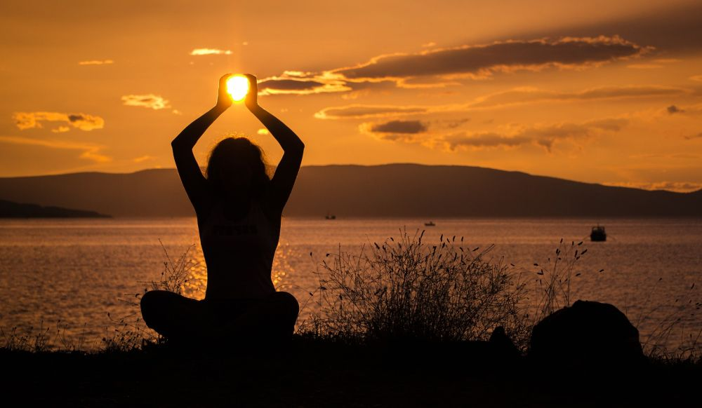kripalu yoga beginner sunset