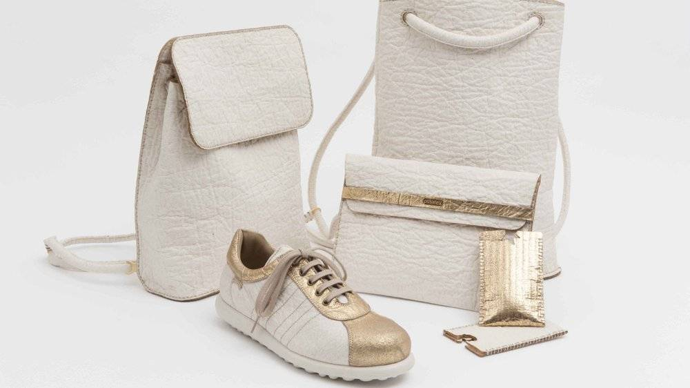 pinatex leather shoes bags accessories