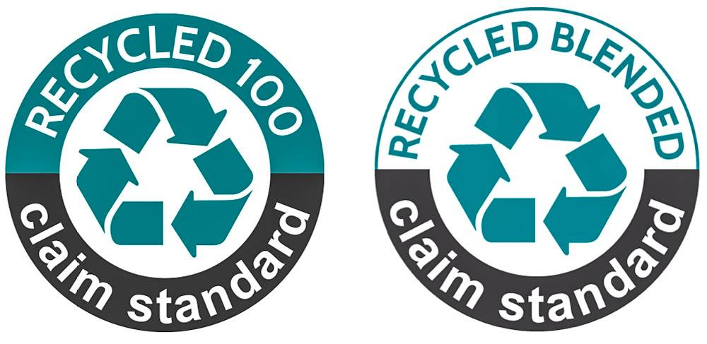 recycled claim standard logo labels