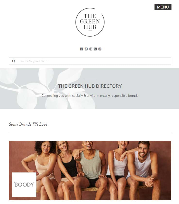 green hub sustainable fashion