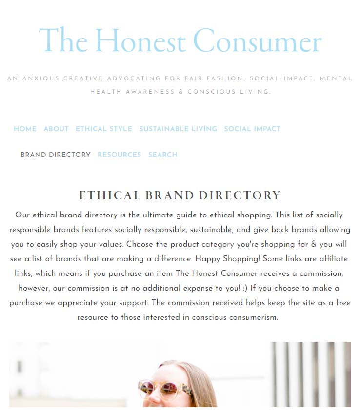 honest consumer ethical brands