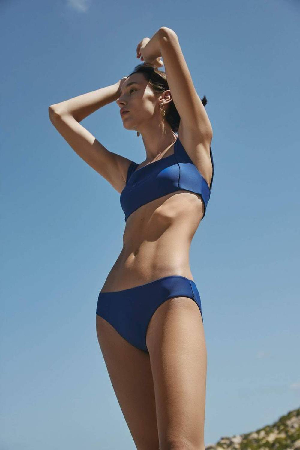 kowtow sustainable swimsuits brand