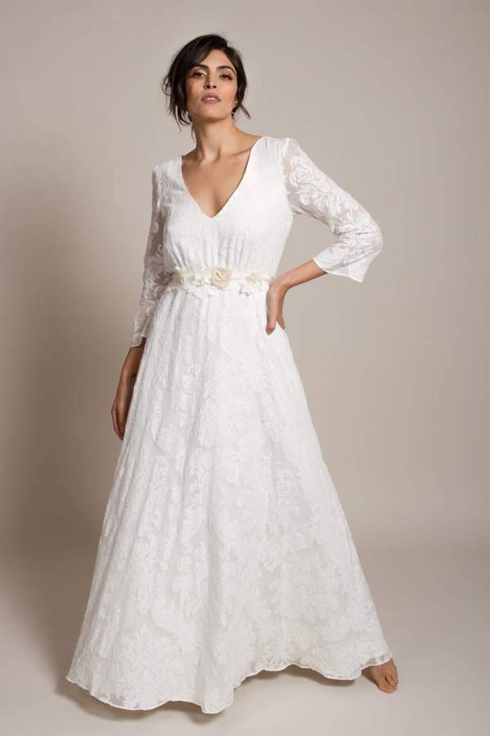 indiebride london ethical wedding gown