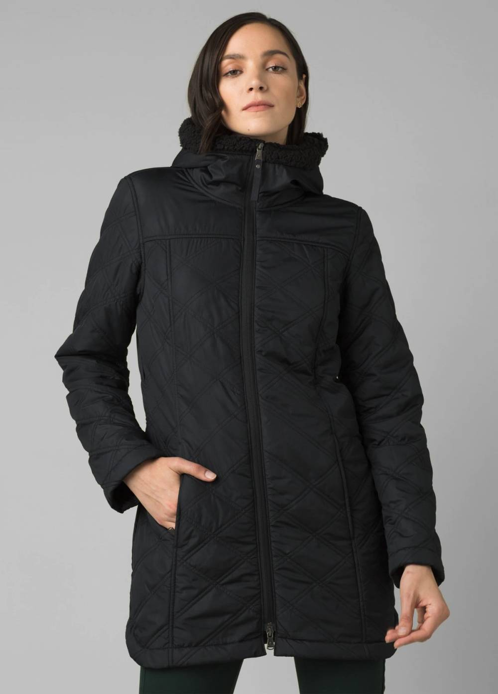 prana sustainable cheap recycled coat