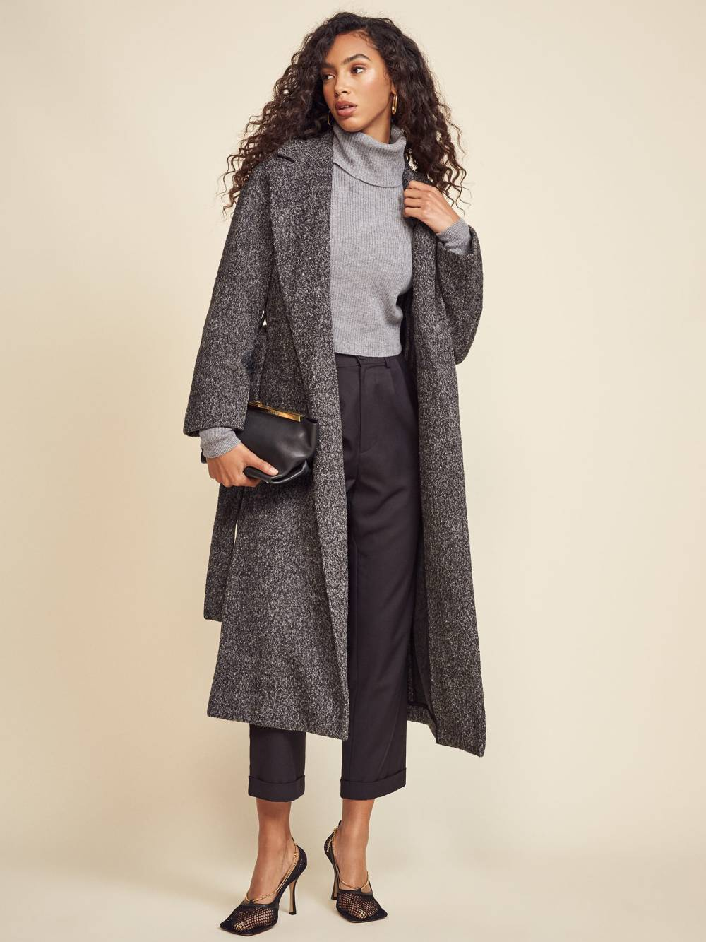 reformation ethical deadstock coat winter