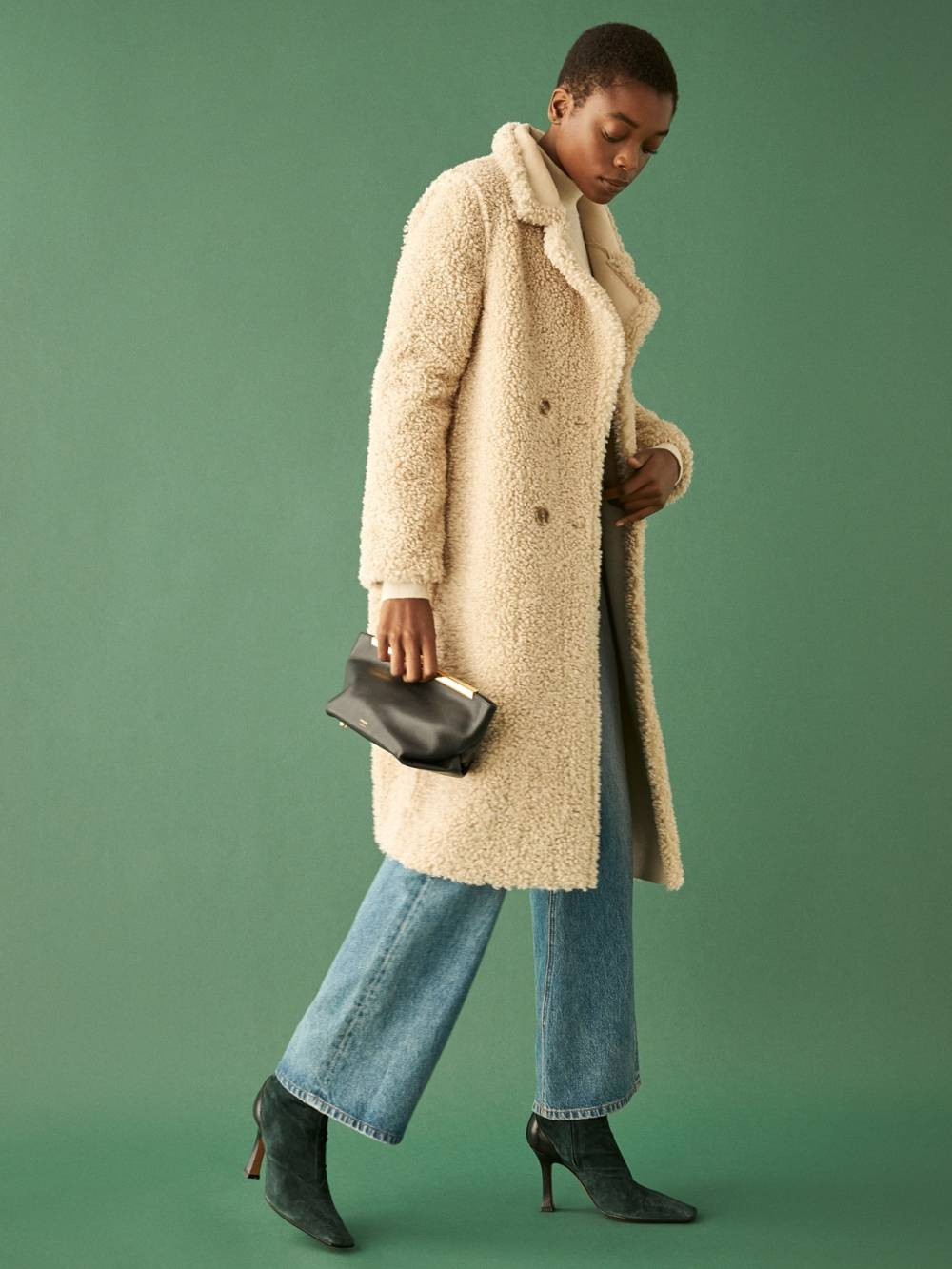 reformation upcycled wool coat brand