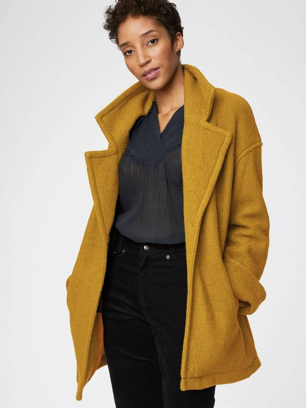 thought clothing recycled wool outerwear