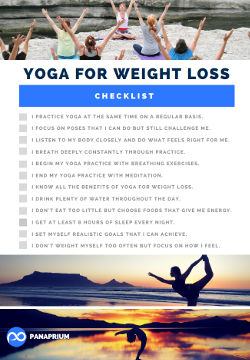 yoga weight loss checklist