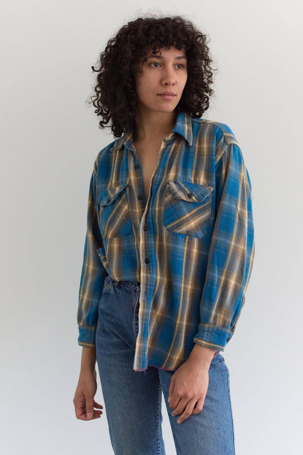 etsy usa made flannel shirt