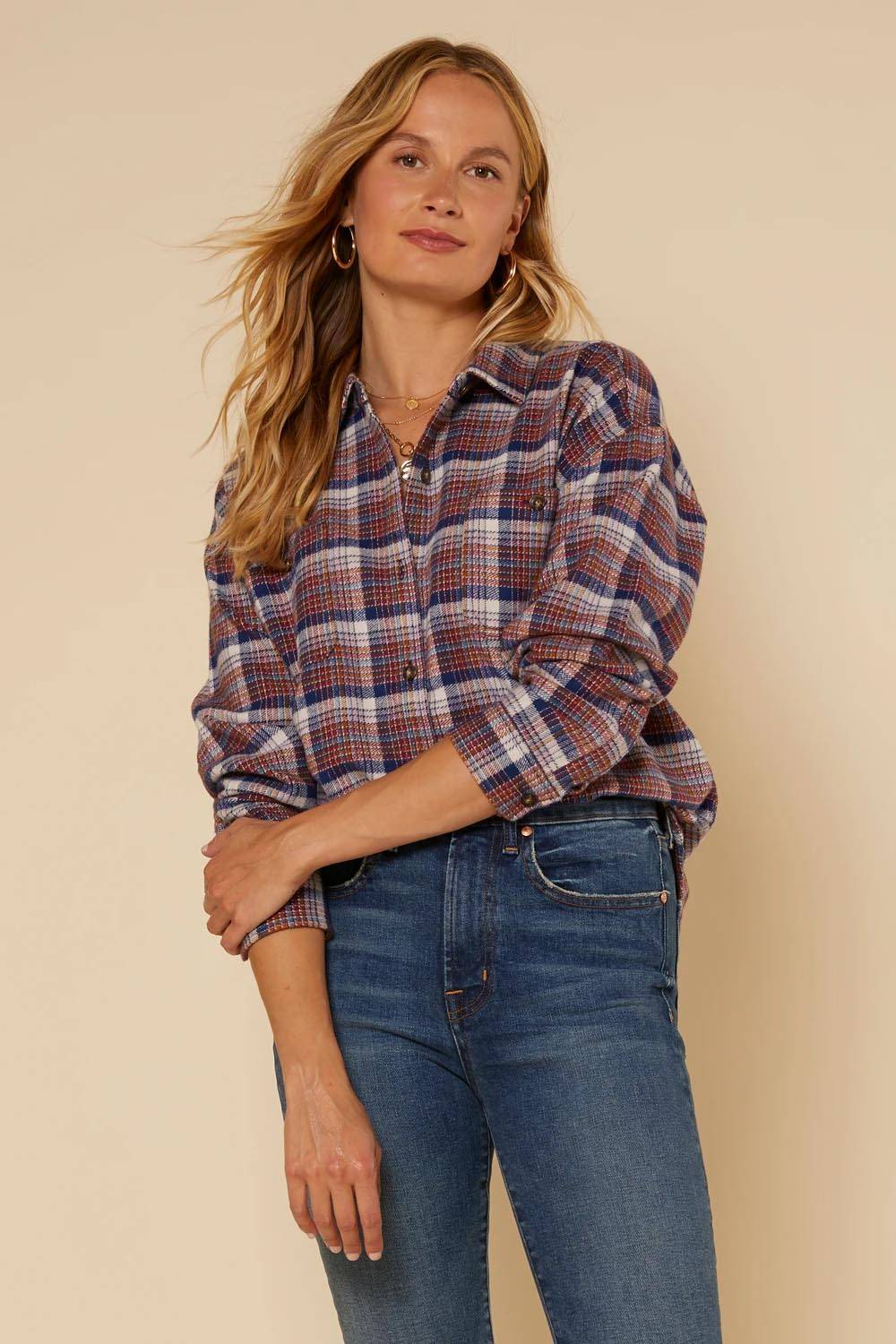 outerknown american made flannel shirt