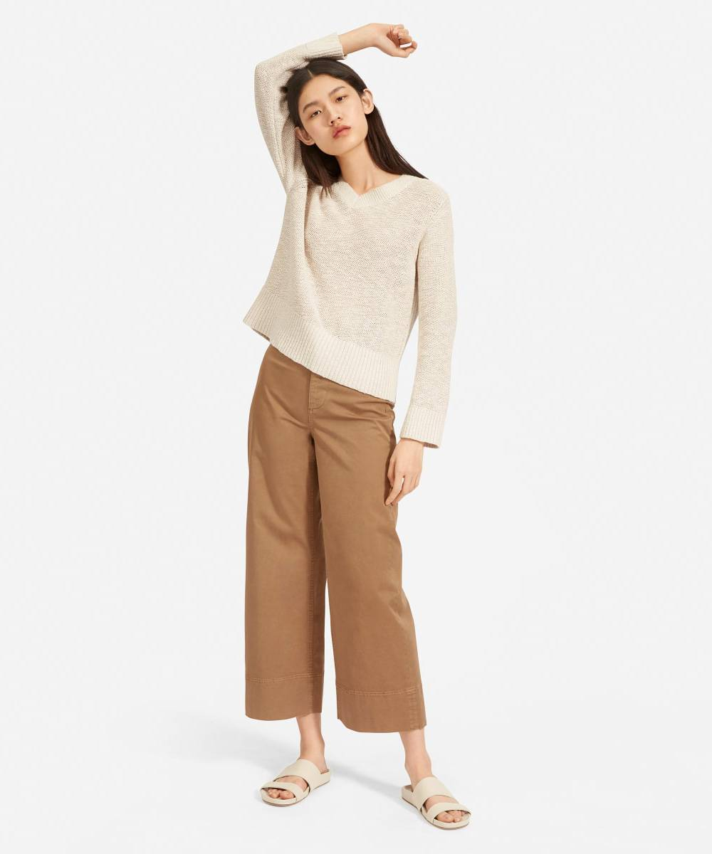 everlane women linen clothing brand