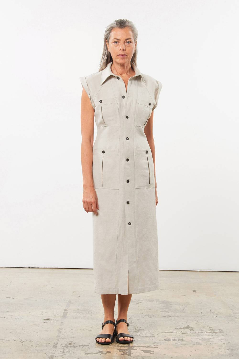 mara hoffman women linen clothes