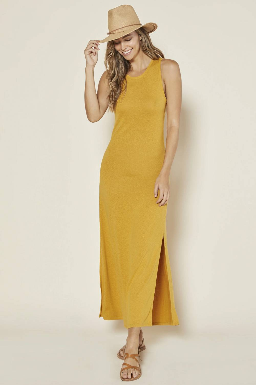 outerknown american made maxi dress